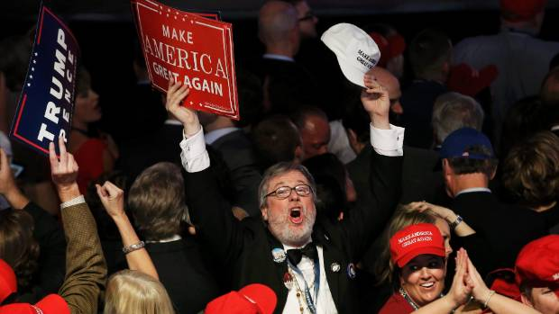 Trump supporters were beyond thrilled by his shock win.