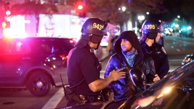Protests in U.S. cities, 5 shot