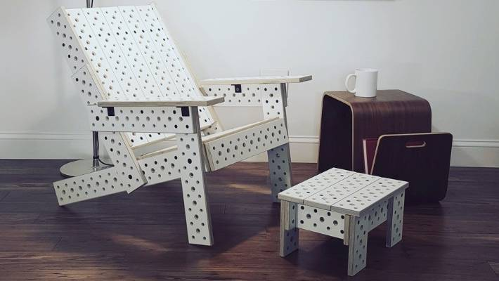 DIY furniture simply bolts together | Stuff co nz