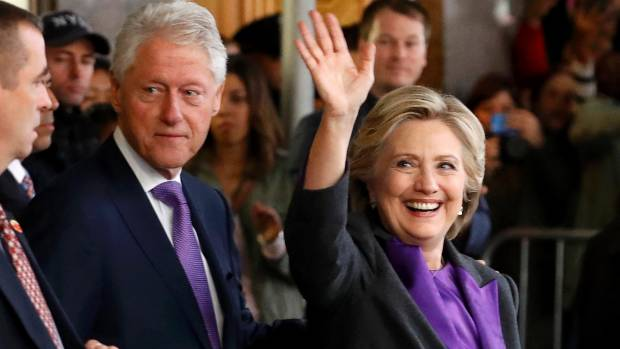 Hillary Clinton has filed for divorce from Bill. True or false?