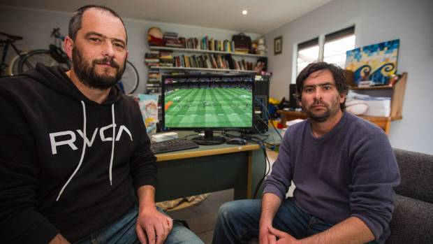 Cain and Gabe Redding have created a rugby simulator they plan to make holographic.