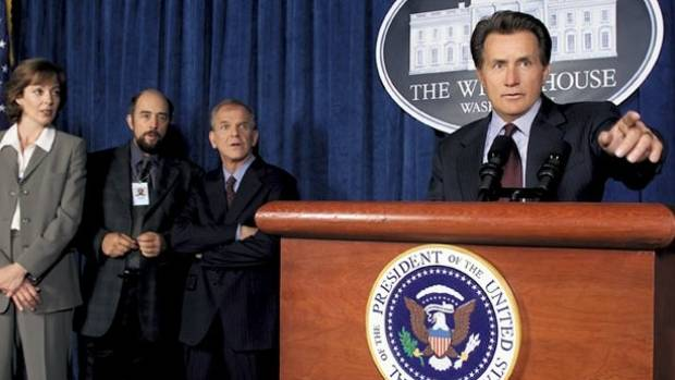The West Wing was a popular political TV show that blended drama with laughs.