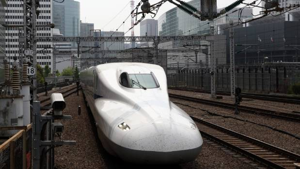 The Shinkansen is a network of high-speed railway lines in Japan.