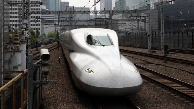 """Technology also used in high-speed """"bullet"""" trains may explain why Japanese firms have dominated the high-speed elevator ..."""