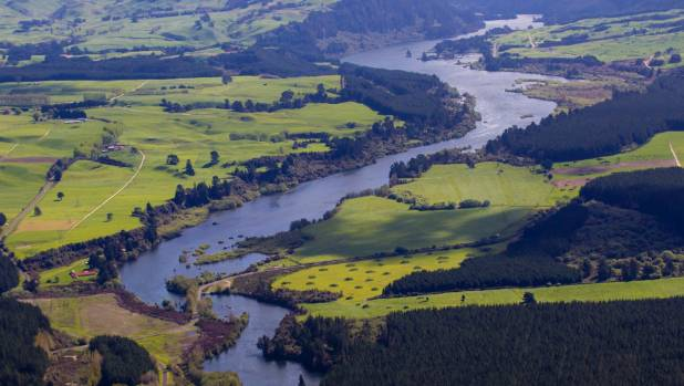 The Waikato is NZ's longest river and it has historically muddy catchments.
