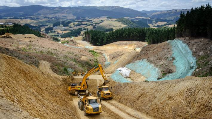 transmission gully earthworks estimates out by 50 per cent but