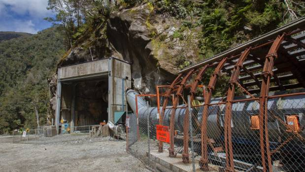 The portal to the Pike River Mine.
