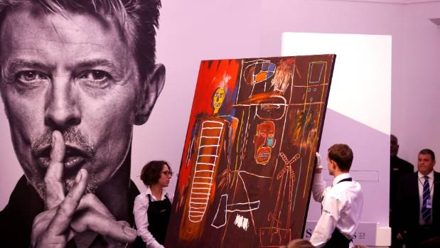 David Bowie's art collection snapped up in London auction