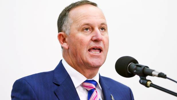 "John Key said he ""simply [didn't] know"" whether the road could be repaired."