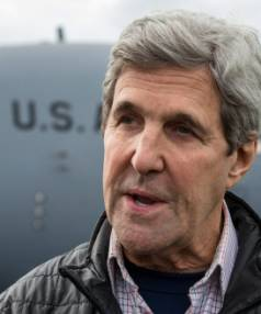 US Secretary of State John Kerry returned on Saturday from a tour of Antarctica.