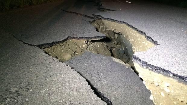 More damage along Leader Road, Canterbury, just inland of SH1.
