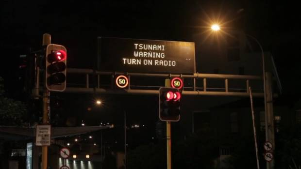 Tsunami warning issued in Wellington after quake strikes NZ