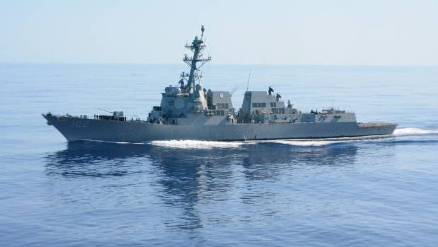 Prime Minister John Key confirmed the USS Sampson's two on-board helicopters could join the disaster relief effort and ...