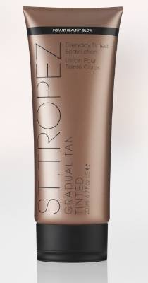 SPLURGE: St Tropez Gradual Tan Tinted Everyday Body Lotion, $40. This award-winning green-tinted formulation is a ...