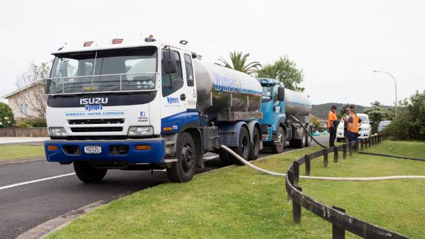 Raglan residents have had to boil their water since Monday's earthquake affected their water supplies.
