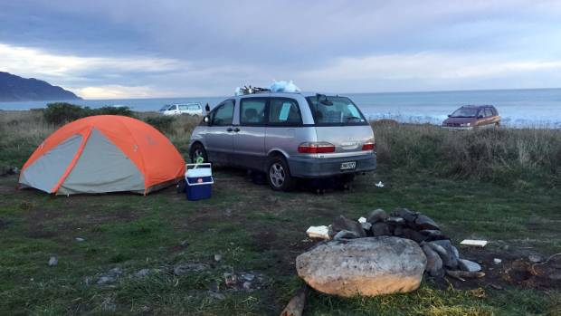 Camper van companies are hoping clients are not stranded in  camping spots along the Kaikoura coast