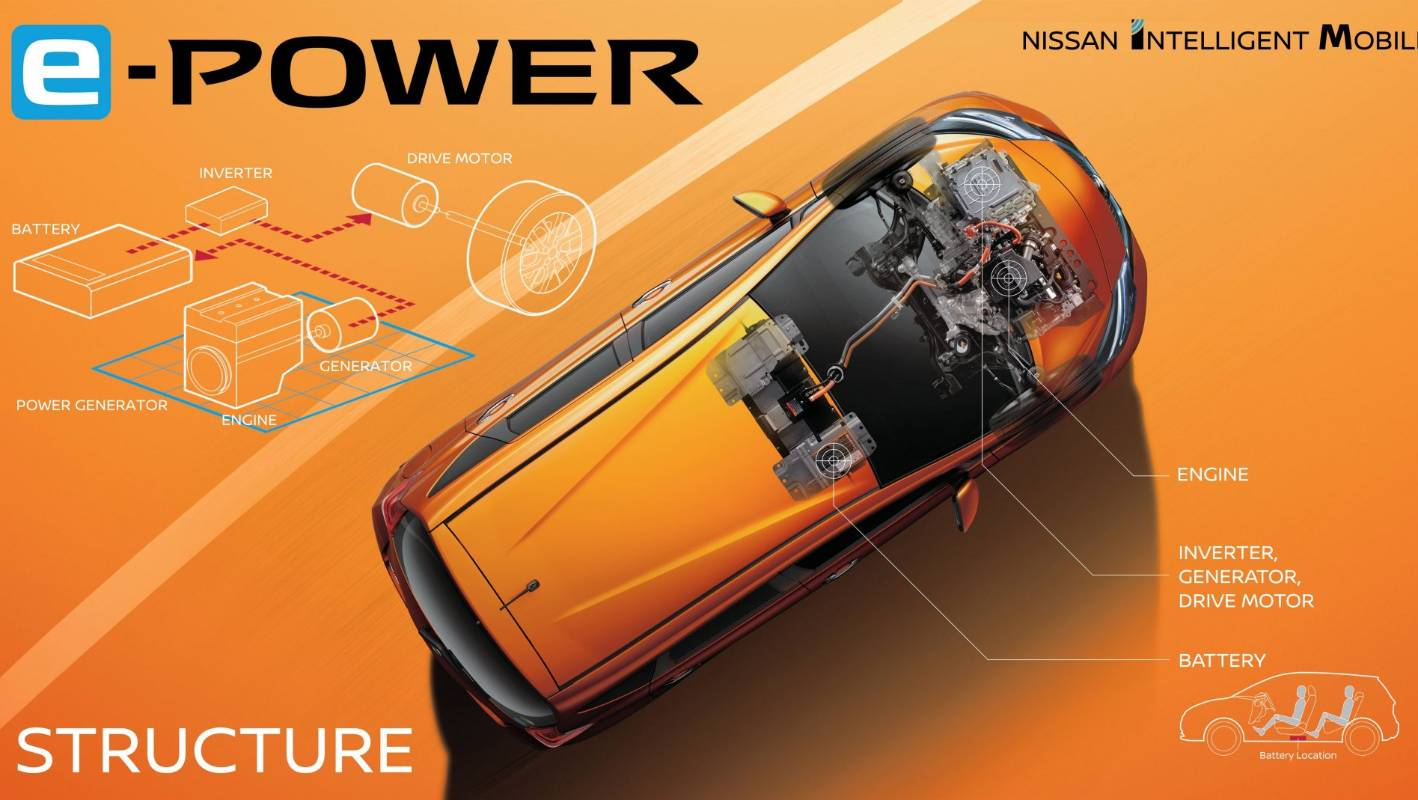 Nissan Launches An Electric Car That Runs Only On Petrol Say What Battery Diagram
