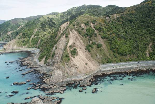 The NZDF sent helicopters to survey areas in North Canterbury that were rocked by a massive 7.5 earthquake early on Monday.