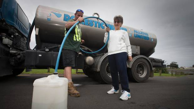 The earthquakes around New Zealand have caused problems for Raglan townships water supply. Here Luke Firmin provides ...