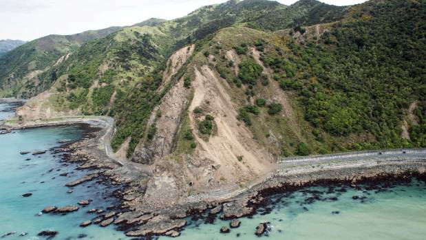 The cycleway could be built in tandem with the rebuild of State Highway 1 along the Kaikoura coast, advocates say.