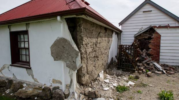 Damage in Waiau is extensive following Monday's earthquakes. Historic Cobb Cottage in Waiau suffered badly.