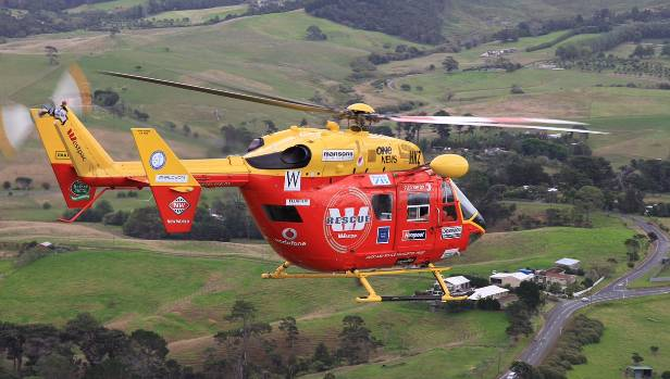 Auckland Westpac Rescue Helicopter choppered two patients out of Whitianga on Thursday.