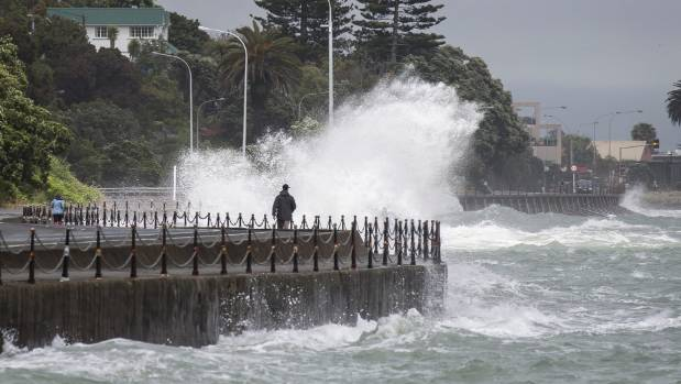 Rocks rd reopens after king tide closure for Landscaping rocks nelson
