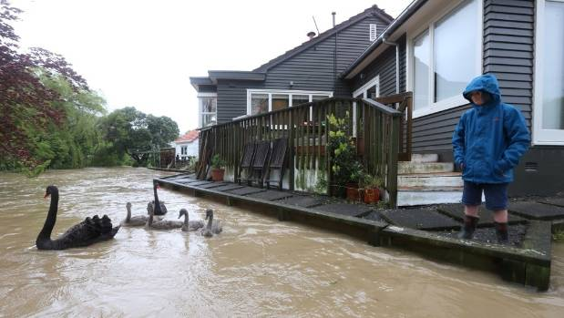 Upper Hutt houses are at risk of flooding.