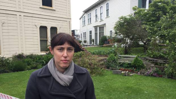 Katherine Mansfield House director Emma Anderson, said the wall dated back to the 1920s or 1930s and was assessed as an ...