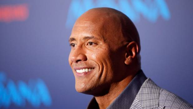 Wrestler-turned-actor Dwayne 'The Rock' Johnson, 44, has been labelled the world's sexiest man by People magazine.