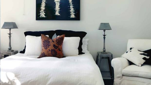 Here's what you're aiming for - a calm, clutter-free space will make you feel (and sleep) better.