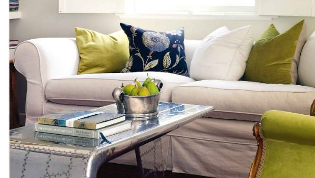 Start small when decluttering - a clear and junk-free coffee table perhaps?