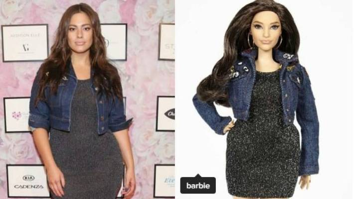 23cac528d09f1 Plus-size model Ashley Graham has her own Barbie doll