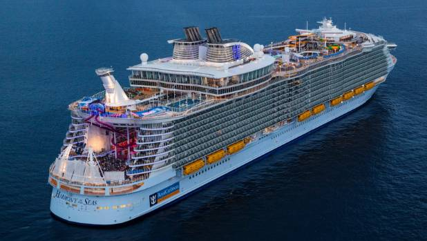 Harmony Of The Seas Hours On The Biggest Cruise Ship In The - Roller coaster on a cruise ship