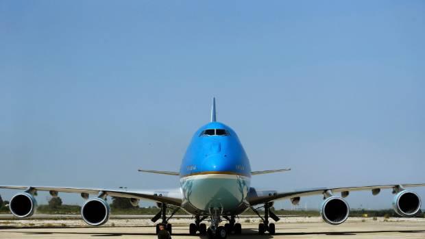 air force 1 airplane nz