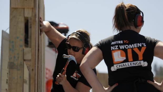 Sarah Coatsworth was Mitre 10's first national women's DIY champion.
