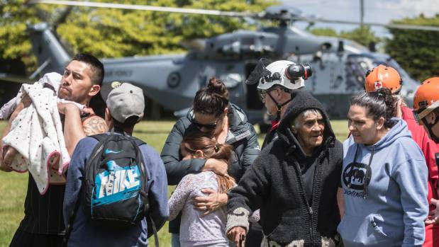 People have been evacuated from Kaikoura by the NZ Defence Force. The major earthquake that struck on Monday has been ...