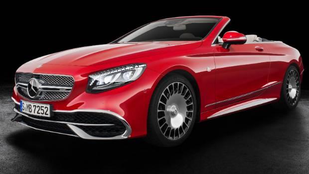 $323000 Mercedes-Maybach Cabriolet Debuts at LA Auto Show