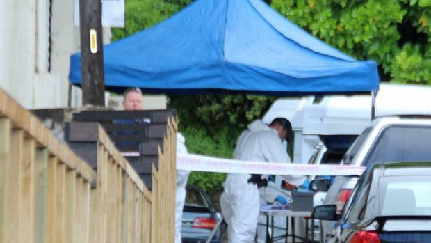 Police said two people had been arrested in relation to the suspected meth lab.