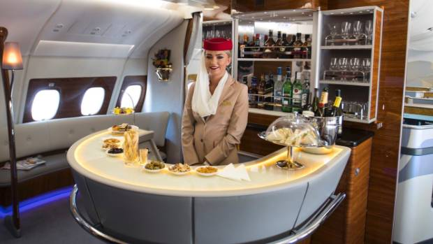 The First Class Aboard A380