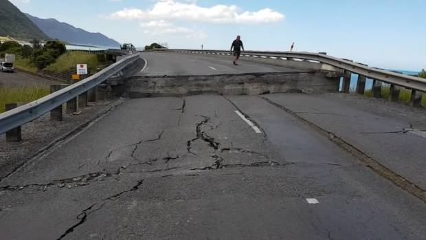 140 people evacuated after New Zealand quake