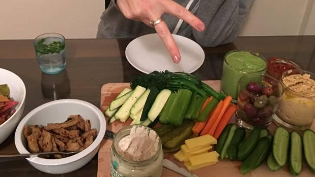 Sutherland's signature dish is a vege platter.