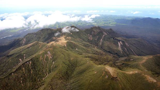 Rescuers will be walking two trampers down off the Pouakai Ranges.