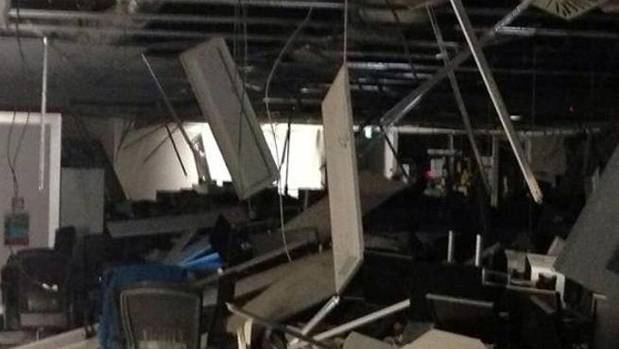 The BNZ Centre on Harbour Quay suffered substantial damage during the Seddon quake in July 2013.