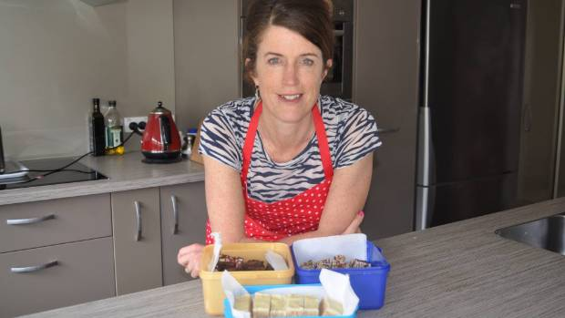 Charmaine Vaughan is collecting baking to send to residents affected by the earthquake.