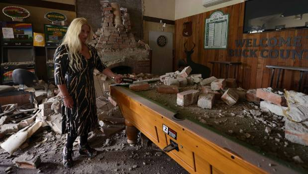 The Waiau lodge has been severely damaged.