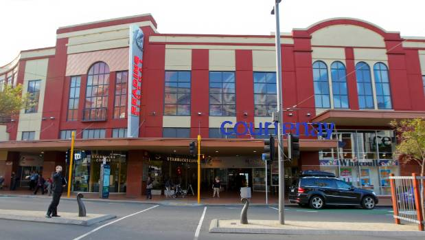 The Reading Cinemas and Courtenay Central building on Courtenay Place has been off-limits for weeks following the ...
