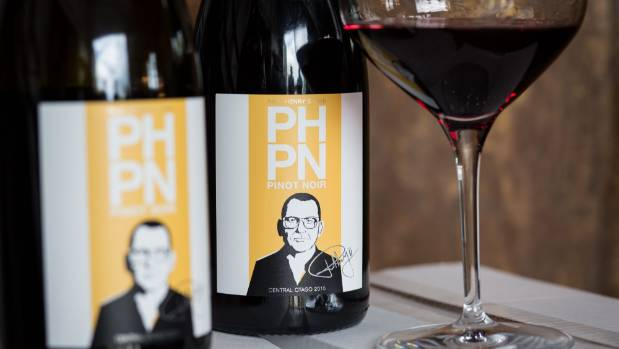 Paul's face and name adorn every bottle of Paul Henry's Own Pinot Noir.