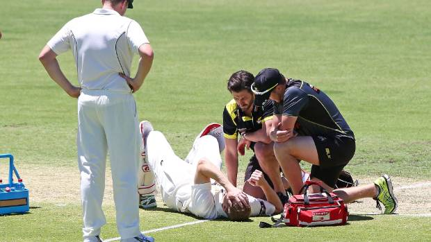 Adam Voges concussed after blow to head