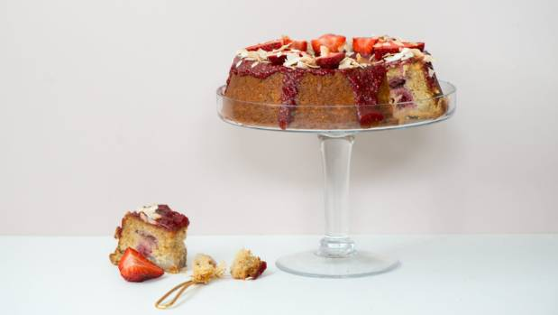 Drizzle with raspberry glaze, top with fruit and you've got a gorgeous tea party treat.